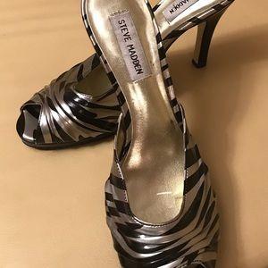"""Steve Madden Slide on 3-1/2"""" stiletto heel"""